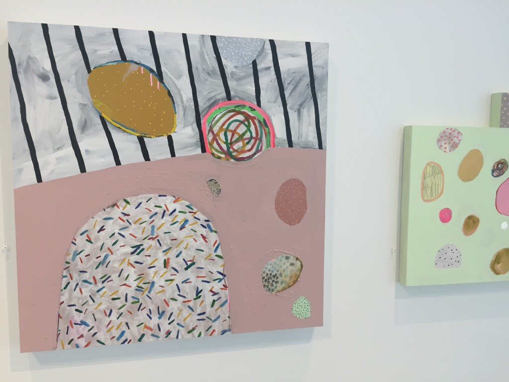 review of ashely peifer's sugar sugar at the burnet gallery in minneapolis